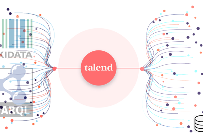 Alimenter Talend avec SPARQL (sur Wikidata)